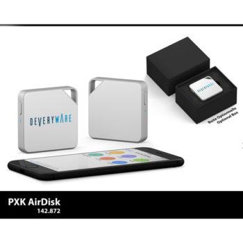 Réalisations New Objet Media airdisk boite optionnelle box everyware